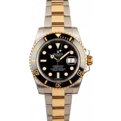 AAA Men's Rolex Submariner 116613 Black Dial JW0737