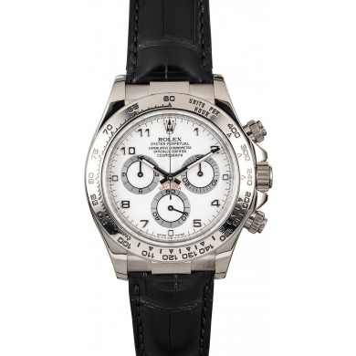 Best Rolex Daytona Cosmograph 116519 - 18K White Gold JW2058