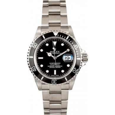 Best Rolex Submariner with Serial Engraved 16610 JW2512