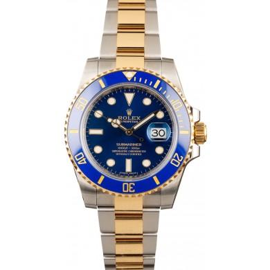 Ceramic Rolex Submariner 116613 Two Tone JW0159