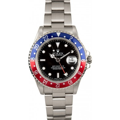 Imitation Rolex GMT-Master II Pepsi 16710 JW2170