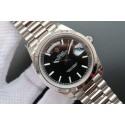 Cheap Rolex Day-Date II 228239 Textured Black Dial Bracelet WJ00992