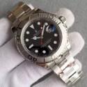 Cheap Rolex Yacht-Master 116622 Black Dial Bracelet WJ00017