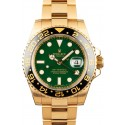 Fake Fashion GMT-Master II Gold Rolex 116718 JW0227