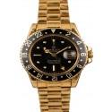 Fake Vintage 1979 Rolex GMT-Master 1675 Nipple Black Dial JW2858