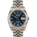 Hot Rolex DateJust Steel 116234 Jubilee JW1970