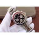 Knockoff Rolex Daytona 116599 Colorful Crystal Bezel Black Dial Bracelet WJ00333