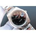 Rolex DateJust 41mm 116334 Black Dial Roman Markers Bracelet Rolex WJ00827