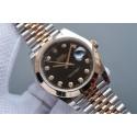 Rolex DateJust 41mm 126303 Polished Bezel Black Dial Bracelet Rolex WJ01241