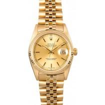 AAAAA Rolex Datejust 16018 Yellow Gold JW1848