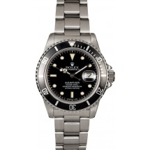 Copy Designer Authentic Rolex Submariner 16800 Sapphire Crystal JW0039
