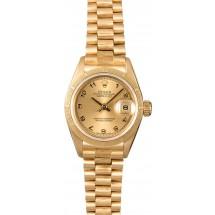 Copy Ladies Rolex Presidential Datejust 69278 Bark JW0357