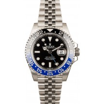 Copy New Model Rolex GMT-Master 126710 Jubilee 'Batman' JW0762