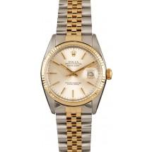 Datejust Rolex 16013 Silver Dial JW0192