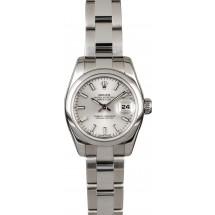 Ladies Rolex Datejust 179160 Silver Dial JW0300