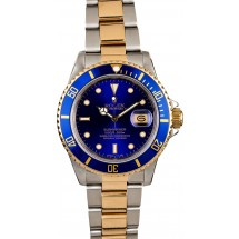 Men's Rolex Submariner 16803 Blue Dial JW0746