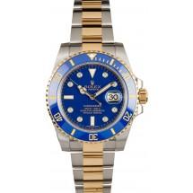 Replica AAAAA Rolex Submariner Blue 116613 Diamond Dial JW2482