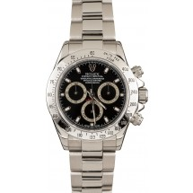Rolex Daytona Steel 116520 Black Dial JW2074
