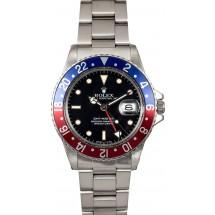 Rolex GMT-Master 16750 Pepsi Insert JW2137