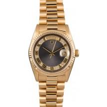 Rolex President 18238 Bronze Myriad Dial with Diamonds JW2313