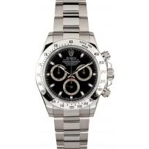 Rolex Steel Daytona 116520 Black JW2394