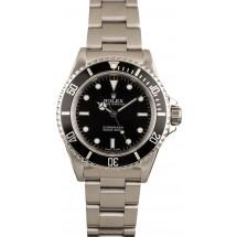 Rolex Submariner 14060M Black Steel Watch JW2424