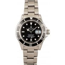 Rolex Submariner 16610 Men's Dive Watch JW2427