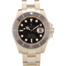 Rolex Submariner Black Ceramic Tachymeter Black Dial 98231