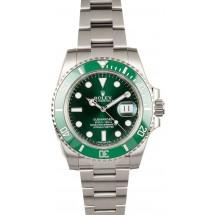 Rolex Submariner Green 116610V Hulk - Factory Stickers JW2494