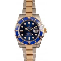 Rolex Submariner Two-Tone 116613 Ceramic Blue JW2505