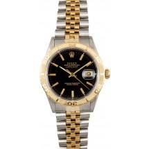 Rolex Thunderbird Datejust 16263 Black Dial JW2519