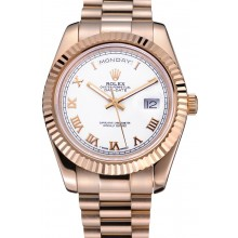 1:1 Rolex Day-Date White Dial Gold Bracelet 622546