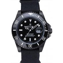 1:1 Rolex Submariner Black Nylon Strap 622006
