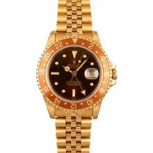 18K Rolex GMT Master 16758 JW0009
