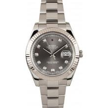 41MM Rolex Datejust II Diamond Dial 116334 JW0018