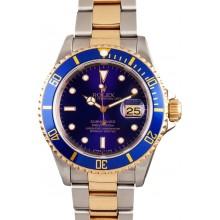 AAA 1:1 Rolex Blue Submariner 16613 JW1659
