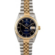 AAA 1:1 Rolex Datejust Blue Dial 16013 JW1920