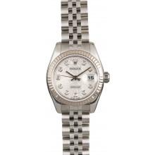 AAA Imitation Lady Rolex Datejust Diamond Dial 179174 JW0374
