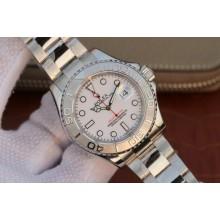 AAA Replica Rolex Yacht-Master 116622 Silver Dial Bracelet WJ00473