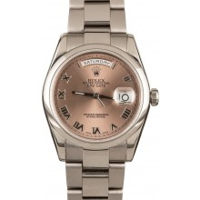 AAA Rolex Day-Date 118209 White Gold JW1997