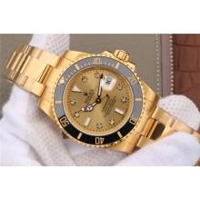 AAA Rolex Submariner 116613 Diamonds Markers Dial Bracelet Rolex WJ00840