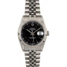 AAAAA Rolex Datejust 16234 Black Index JW1888