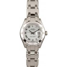 AAAAA Rolex Pearlmaster 80319 Mother of Pearl Dial JW0611