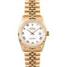 Best 1:1 Gold Rolex Datejust 16238 JW0235