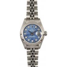 Best Ladies Rolex Datejust 79174 Sodalite JW0321