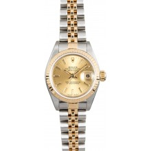 Best Quality Imitation Rolex Lady-Datejust 79173 Champagne Jubilee JW0560
