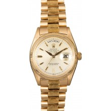 Best Quality Imitation Vintage Rolex Gold Day-Date 6611B JW2923