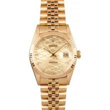 Best Quality Men's Rolex DateJust Gold 16018 JW0701