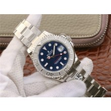 Best Quality Rolex Yacht-Master 37mm 268622 Custom Made Blue Dial 904L Case and Bracelet WJ00488