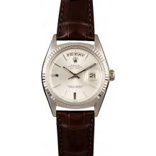 Best Rolex DayDate 1803 White Gold JW2021